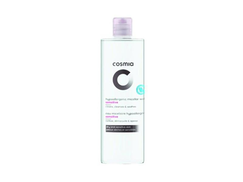 Cosmia Hypoallergenic Micellar Water, Sensitive,