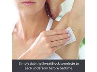 SweatBlock Antiperspirant Clinical Strength Towelettes - Image 3