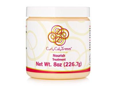 CurlyCoilyTresses Nourish Treatment, 8 oz + 16 oz