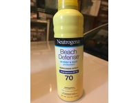 Neutrogena Beach Defense Sunscreen Spray Broad Spectrum SPF 70, 6.5 oz - Image 6