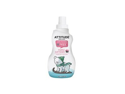 Attitude Little Ones Fabric Softener for Baby, Fragrance Free, 33.8 fl oz (Pack of 2)