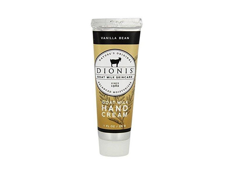 Dionis Vanilla Bean Hand Cream, 1oz