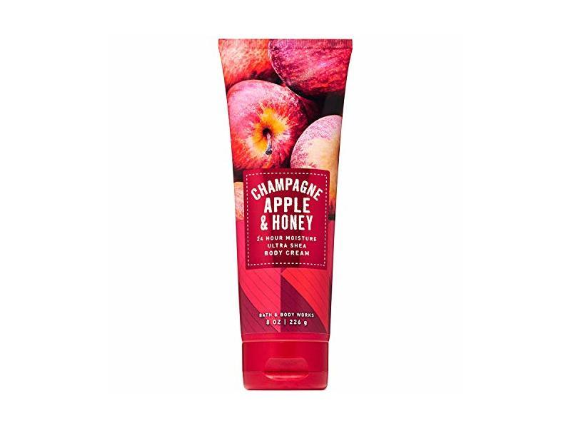 Bath & Body Works Champagne Apple & Honey Ultra Shea Body Cream, 8 oz