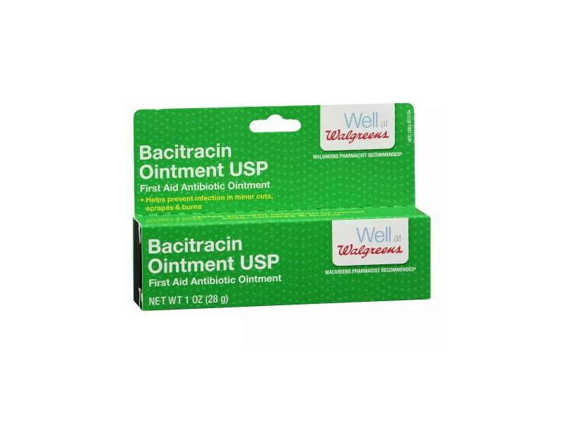 Walgreens Bacitracin Ointment USP, 1 oz