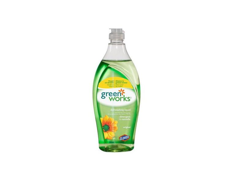 Green Works Natural Dishwashing Liquid - Original, 22 fl oz