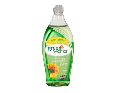 Green Works Natural Dishwashing Liquid - Original, 22 fl oz
