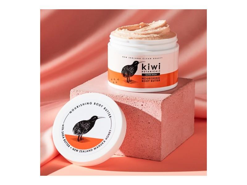 New Zealand Clean Beauty Kiwi Botanical Nourishing Body Conditioner, 8.5 oz