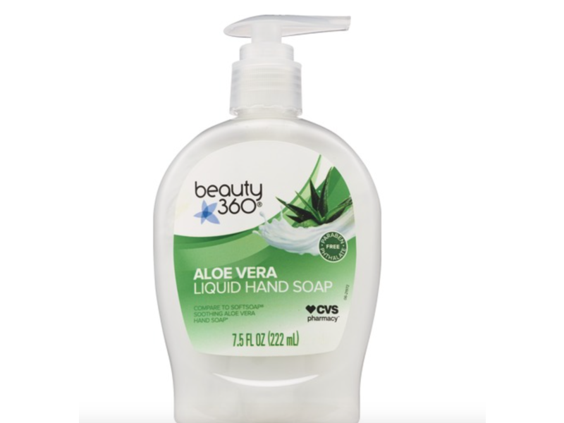 Beauty 360 Aloe Vera Liquid Hand Soap