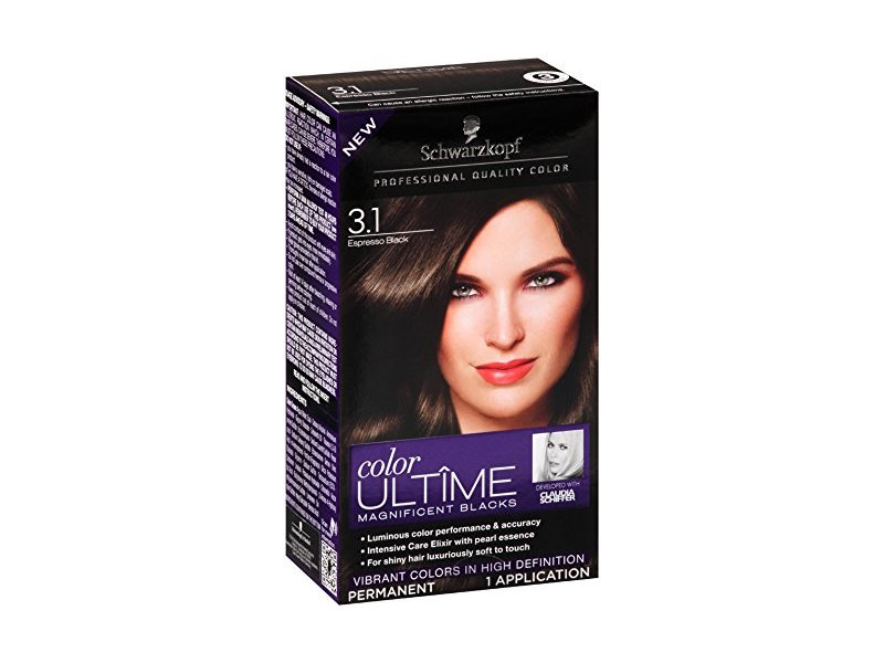Schwarzkopf Ultime Hair Color Cream 31 Espresso Black 203 Ounce