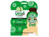 Yes To Cucumbers Calming Bubbling Paper Mask - Image 2