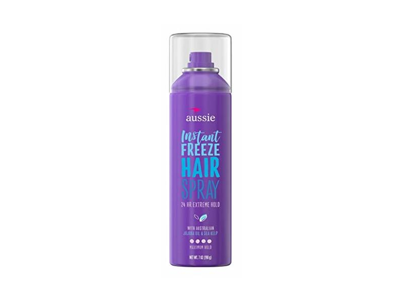 Aussie Hairspray Instant Freeze 7 Ounce (Max Hold)