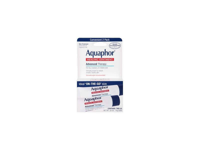 Aquaphor Advanced Therapy Healing Ointment Tube with Touch-Free Applicator
