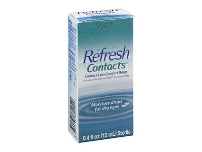 Refresh Contact Lens Comfort Drops, 12 mL