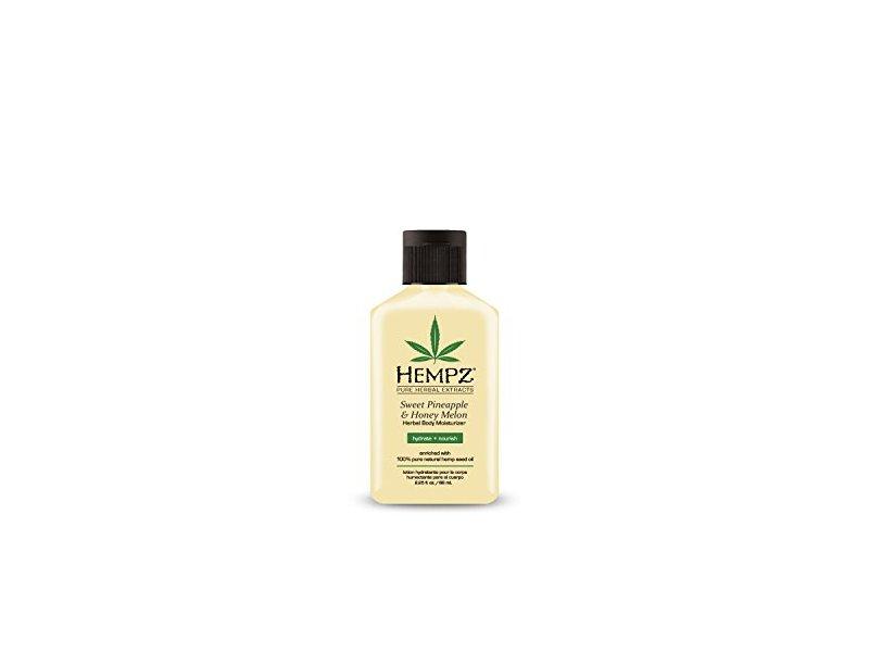 Hempz Sweet Pineapple and Honey Melon Herbal Body Moisturizer, 2.25 Ounce