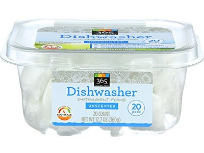 365 Everyday Value, Dishwasher Detergent Packs, Unscented, 20 ct
