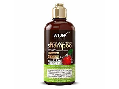 WOW Apple Cider Vinegar Shampoo, 500 ml