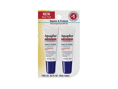 Aquaphor Lip Repair & Protect Tube Blister Card Dual Pack, 0.35 oz - Image 1