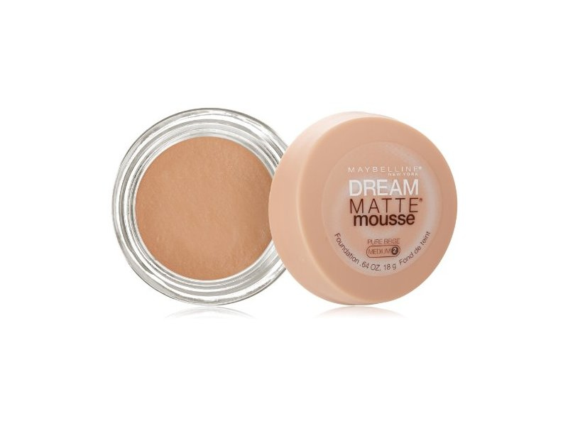 Maybelline New York Dream Matte Mousse Foundation, Pure Beige, 0.64 Ounce