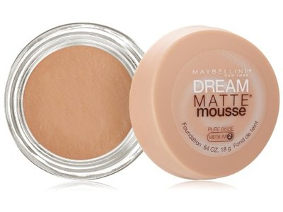 Maybelline New York Dream Matte Mousse Foundation, Pure Beige, 0.64 Ounce - Image 1