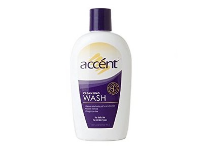 Accent Cleansing Body Wash, 12 Fl Oz - Image 1