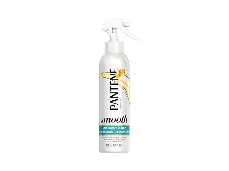 Pantene Smooth and Sleek Heat Protecting Spray, 8.5 Fluid Ounce