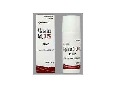 Adapalene Gel Pump, 0.3%, 45 g