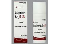 Adapalene Gel Pump, 0.3%, 45 g - Image 1
