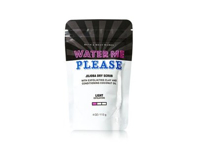 Bath and Body Works Water Me Please Jojoba Dry Scrub, 4 ounces - Image 1