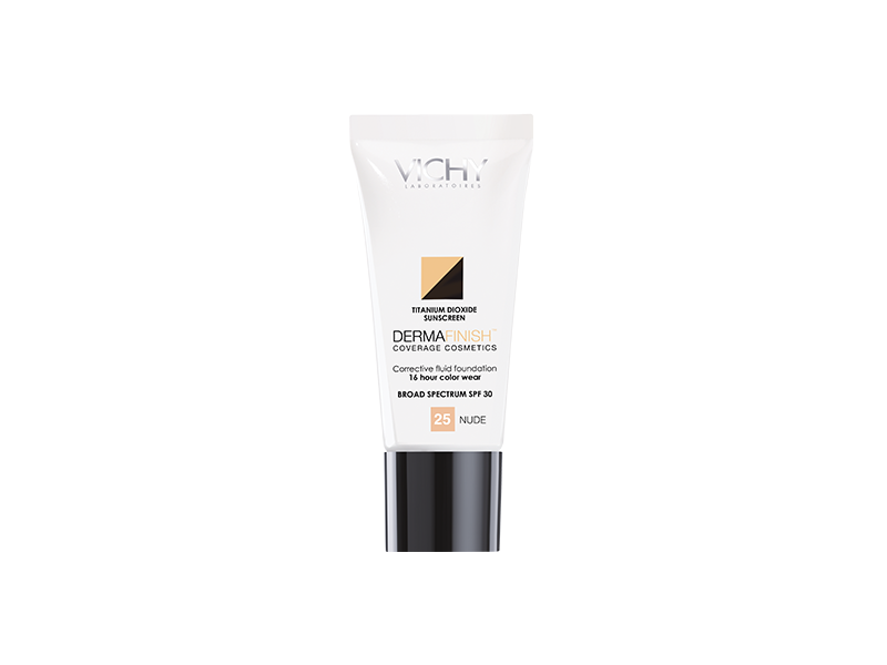 Dermafinish Corrective Fluid Foundation Nude 25