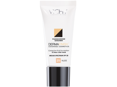 Dermafinish Corrective Fluid Foundation Nude 25 - Image 1