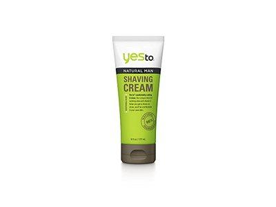 Yes to Natural Man Shaving Cream, 6 fl oz