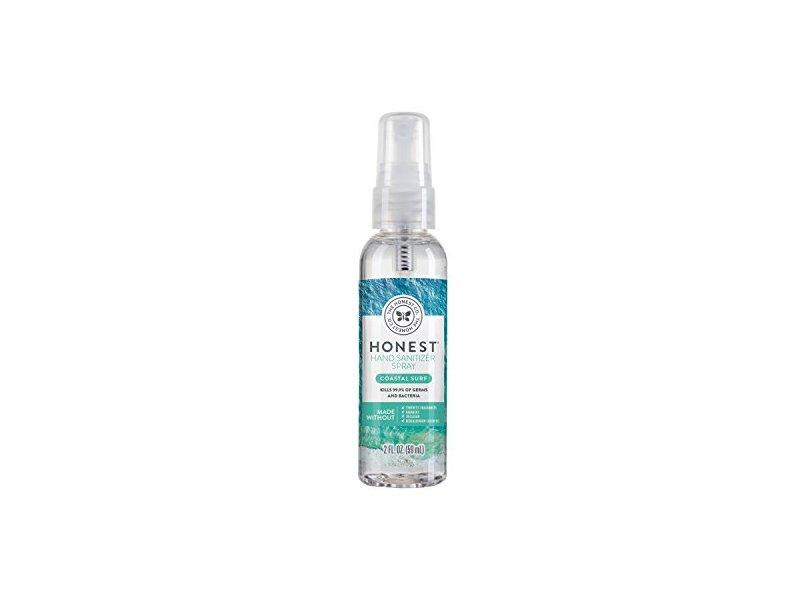 The Honest Company Hand Sanitizer Spray, Coastal Surf, 2 fl oz / 59 ml