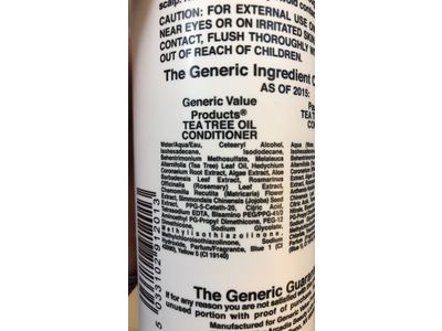 Generic Value Products Tea Tree Oil Conditioner, 16 fl oz - Image 4