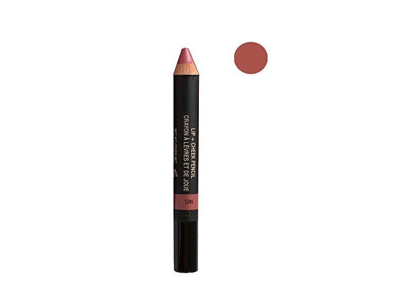 NUDESTIX Lip & Cheek Pencil, Sin, 0.05 oz