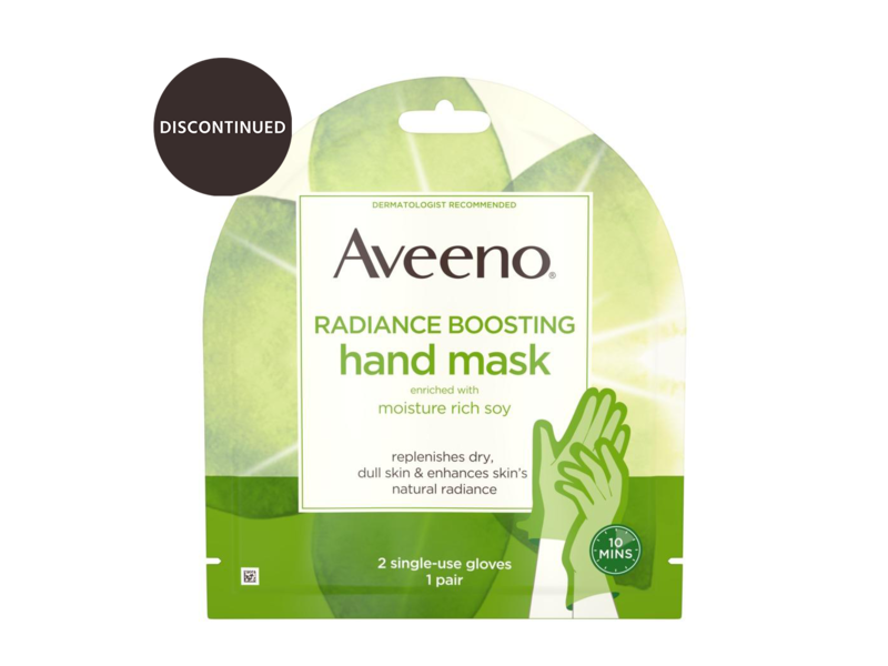 Aveeno Radiance Boosting Hand Mask with Soy