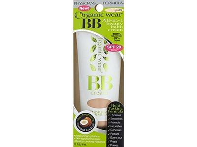 Physicians Formula Organic Wear 100% Natural Origin BB Beauty Balm Cream, Light, 1.2 Fluid Ounce - Image 5