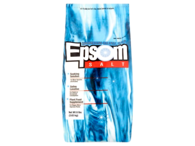 Epsom Magnesium Sulfate U.S.P. Salt, 8 lbs - Image 1