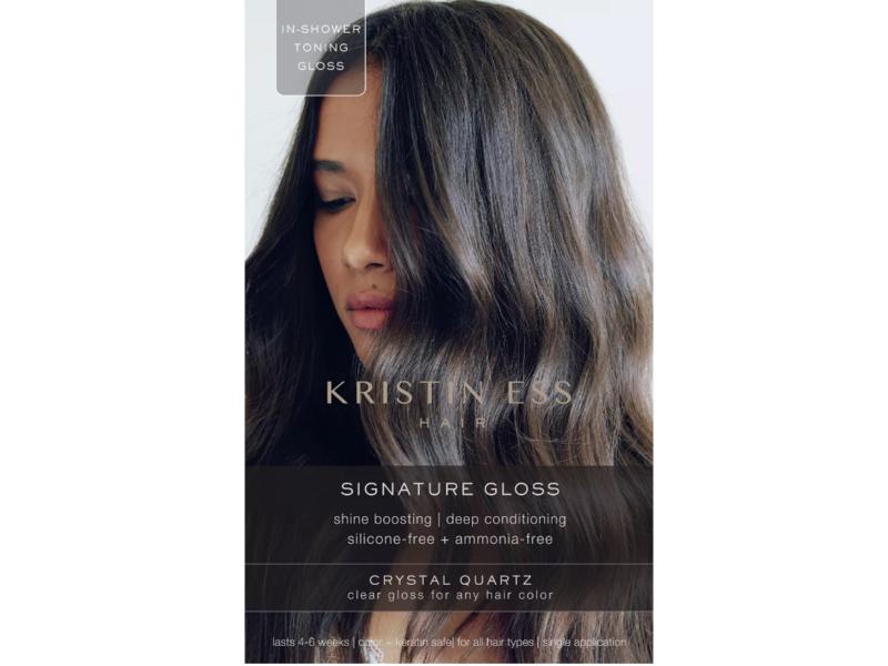 Kristin Ess Hair Signature Gloss, Crystal Quartz, 2 fl oz