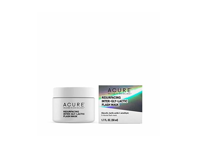 Acure Mask Resurfacing Inter-Gly-Lactic, 1.7 Ounce