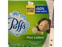 Puffs Plus Mega Facial Tissue, 72 Count - Image 3