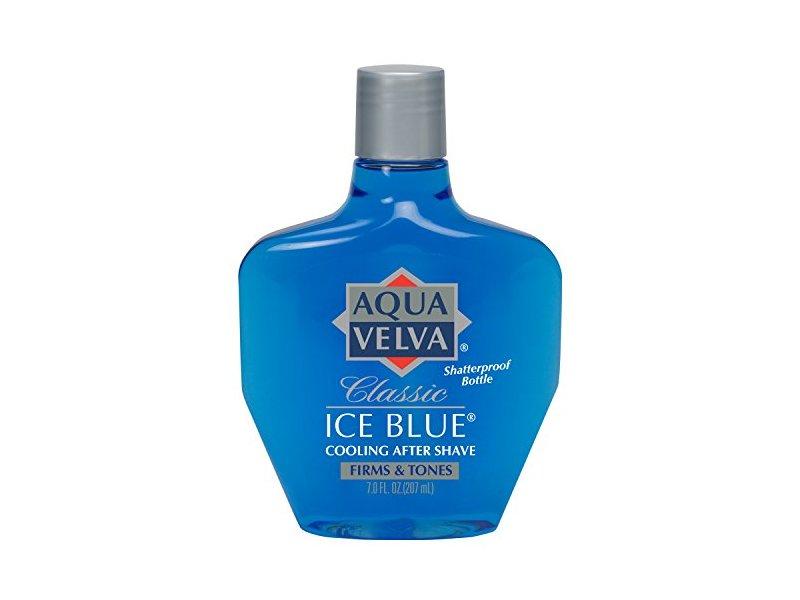 Aqua Velva After Shave, Classic Ice Blue, 7 Ounce