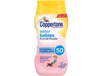 Coppertone Water Babies Pure & Simple Sunscreen Lotion SPF 50 - Image 2