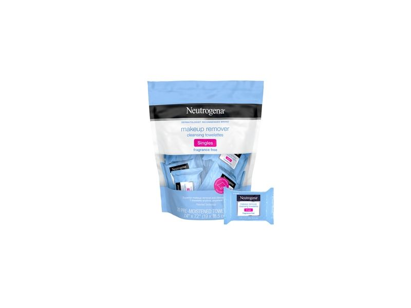 Neutrogena Fragrance-Free Makeup Remover Face Wipe Singles