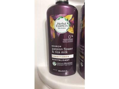 Herbal Essences Nourish Conditioner, Passion Flower & Rice Milk, 13.5 fl oz - Image 4