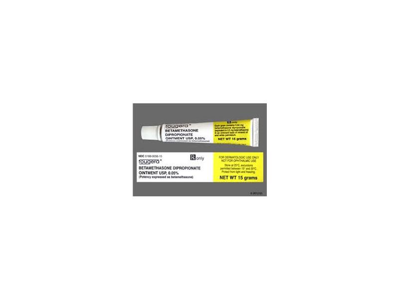 Betamethasone Dipropionate Ointment USP 0.05% (RX), 15G Fougera