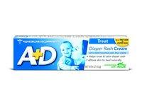 Bayer A&D Zinc Oxide Diaper Cream, 4 OZ (113 g) - Image 2