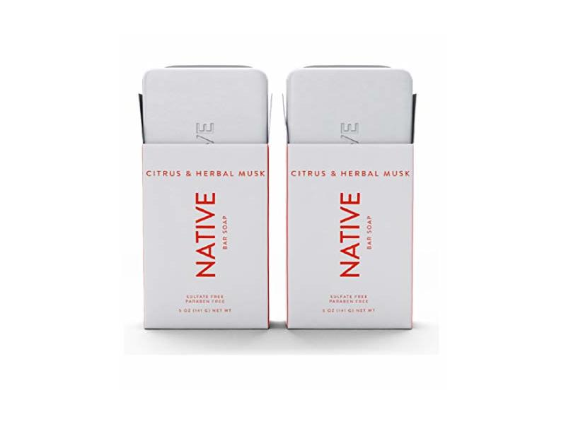 Native Citrus & Herbal Musk Bar Soap, 5oz