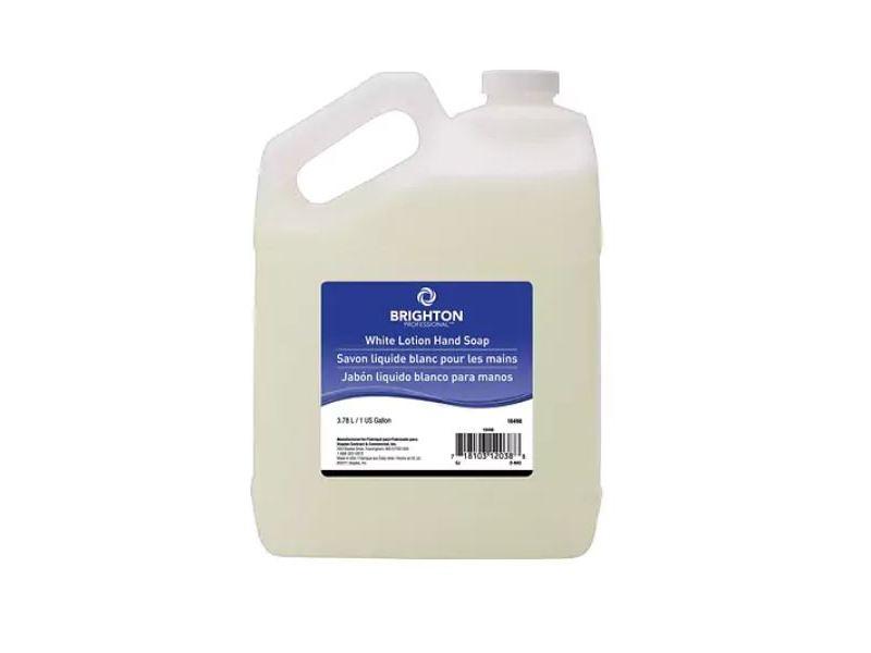 Brighton White Lotion Hand Soap, 3.78 L