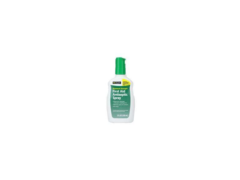 DG Health First Aid Antiseptic Spray, 5 fl oz
