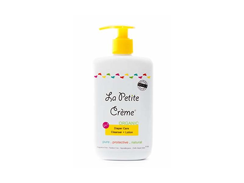 La Petite Creme Organic French Diapering Lotion, 8 oz